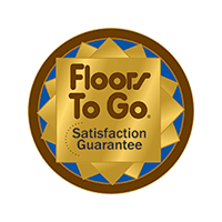 Ask about our Floors To Go 60 Day Satisfaction Guarantee!