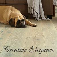 Stop by your local Floors To Go showroom today and explore all of the latest styles and colors of Creative Elegance hardwood flooring today!